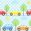 Stock Vector: Cars background