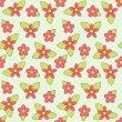 Flowers pattern - Stock Vector