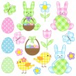 Easter set — Stock Vector #9691081