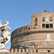 Sant Angelo castle in Rome, Italy — Stock Photo