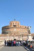 Sant castillo angelo en roma, italia — Foto de Stock