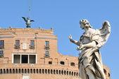 Sant château d'angelo à rome, italie — Photo