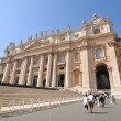 Saint Peter basilica - Stock Photo