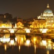 Rome by night — Stock Photo