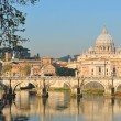 Rome at sunset — Stock Photo