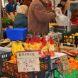 outdoor market — Stock Photo