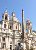 Piazza Navona, Rome (Italy) — Stock Photo