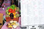 Restauracja-wegetariańska — Zdjęcie stockowe