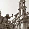 Piazza Navona, Rome — Stock Photo