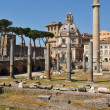 Trajan's Column in Rome, Italy — Stock Photo