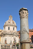 Column in Rome, Italy — Stock Photo