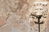 Old fountain in Rome, Italy — Stock Photo