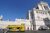 ヴェネツィア広場、ローマ — ストック写真