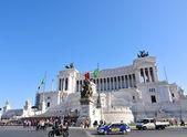 Piazza Venezia, Rome — Stock Photo
