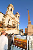 Roma ao pôr do sol — Foto Stock
