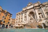 Fontana di Trevi, Rome — Stock Photo