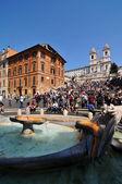 Piazza di Spagna, Rome — Stock Photo