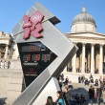 London 2012 Olympics countdown — Stock Photo #8418148