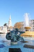 London, Trafalgar Square — Stock Photo