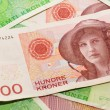Norway currency — Stock Photo #8506495