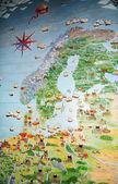 Scandinavia — Stock Photo