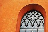 Středověká okna — Stock fotografie