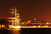 Stockholm by night — Foto de Stock