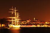 Stockholm gece — Stok fotoğraf
