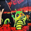 Foto de Stock  : Graffiti wall