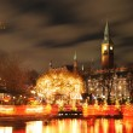 Copenhagen by night — Stock Photo #8865943