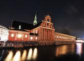 Holmens Kirke in Copenhagen — 图库照片