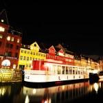 Copenhagen by night — Stock Photo #9090530