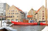 Canal in Copenhagen — Stock Photo