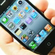 Apps on iPhone 4s — Stock Photo #9338735