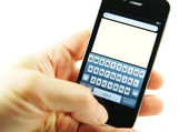 Apple iphone 4s — Foto Stock
