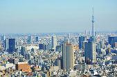 Tokyo aerial — Stock Photo