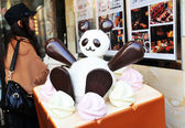 Japanese dessert — Stock Photo
