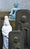 Buddhist cemetery — Stock Photo
