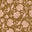 Seamless floral pattern — Stock Vector #8412363