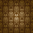 Damask seamless floral pattern - Stock vektor