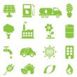 Ecology icon set — Stock Vector #10110164