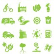 Stock Vector: Ecology and environment icons