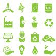 Royalty-Free Stock Vector Image: Eco icon set