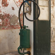 Stock Photo: Old fuel pump supply