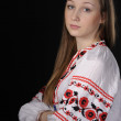 Girl in Ukrainian national costume — Stock Photo #8806780