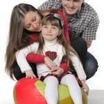familia feliz — Foto de Stock