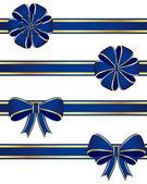 Boucles bleus — Vecteur
