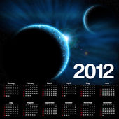 Calendário 2012 — Foto Stock