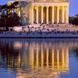 Jefferson Memorial and Tidal Basin Evening — Stock Photo #10182680
