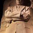 Martin Luther King Memorial Night Washington DC - Stock Photo